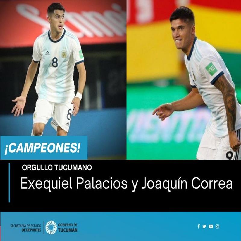 Exequiel Palacios Y Joaquin Correa
