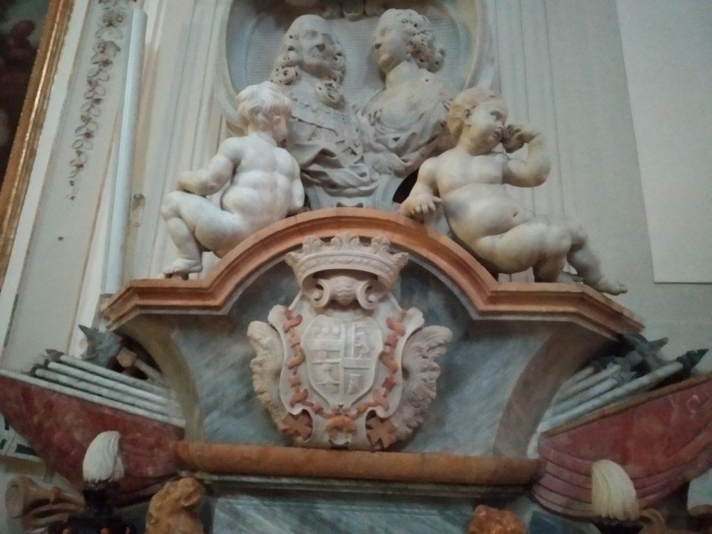 Tomba di Luigi Riggio e la moglie Caterina