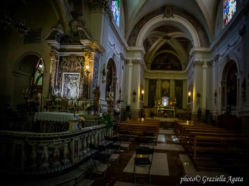 Navata centrale del Santuario - Foto: Graziella Agata