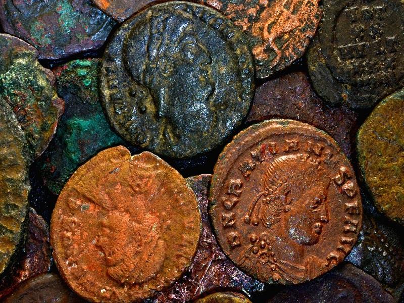 Antiche monete- Foto: pixabay