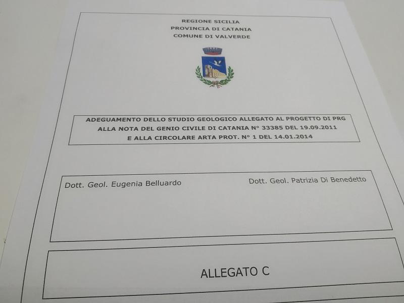 Studio geologico redatto da Belluado e Di Benedetto - Foto: Cavaleri Francesca Agata