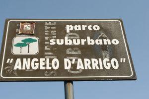 Parco suburbano: il cartello del parco - Foto:Cavaleri Francesca Agata