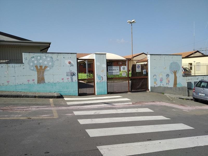 La scuola di Via Seminara a Valverde - Foto: Cavaleri Francesca Agata