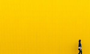 Regione Gialla: un muro tutto giallo - Foto: Pixabay