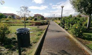Parco Fiume e l'istallazione dei cestini -Foto Cavaleri Francesca Agata