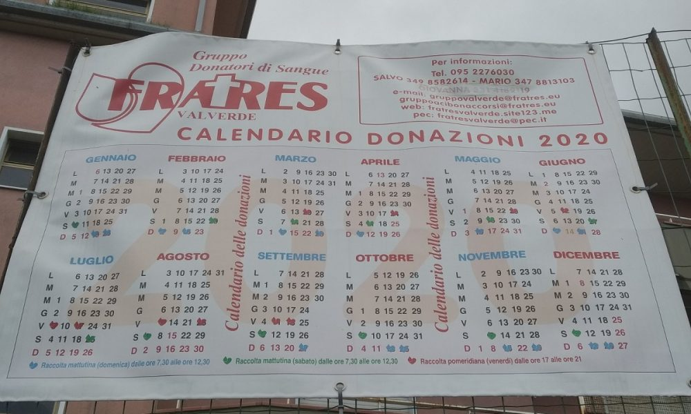 Frates Valverde Calendario Delle Donazioni - Foto: Cavaleri Francesca Agata