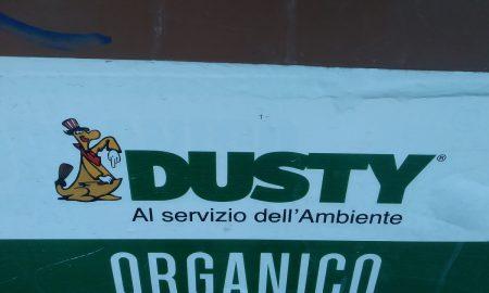 Rifiuti speciali Covid- Il logo della Dusty - Foto: Cavaleri Francesca Agata