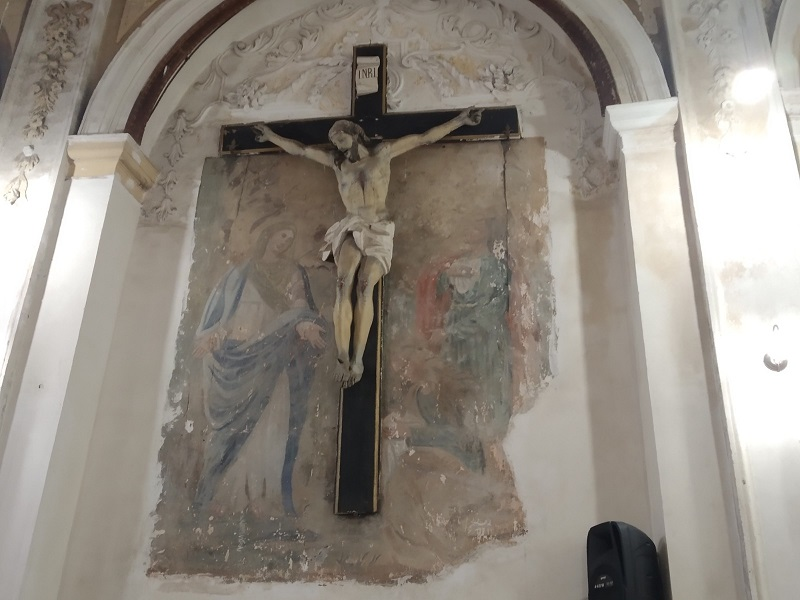 Chiesa Della Misericordia Crocifisso ligneo - Foto: Cavaleri Francesca Agata