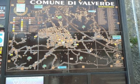 Vie valverdesi: la mappa del Paese - Foto: Cavaleri Francesca Agata