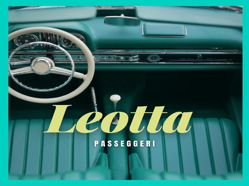 Alessandro Leotta: la copertina dell'Ep Passeggeri- Foto: Concessione del Cantautore
