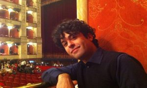 Luca Fiamingo-il primo piano dell'artista - Foto: Pagina FAcebbok di Luca Fiamingo