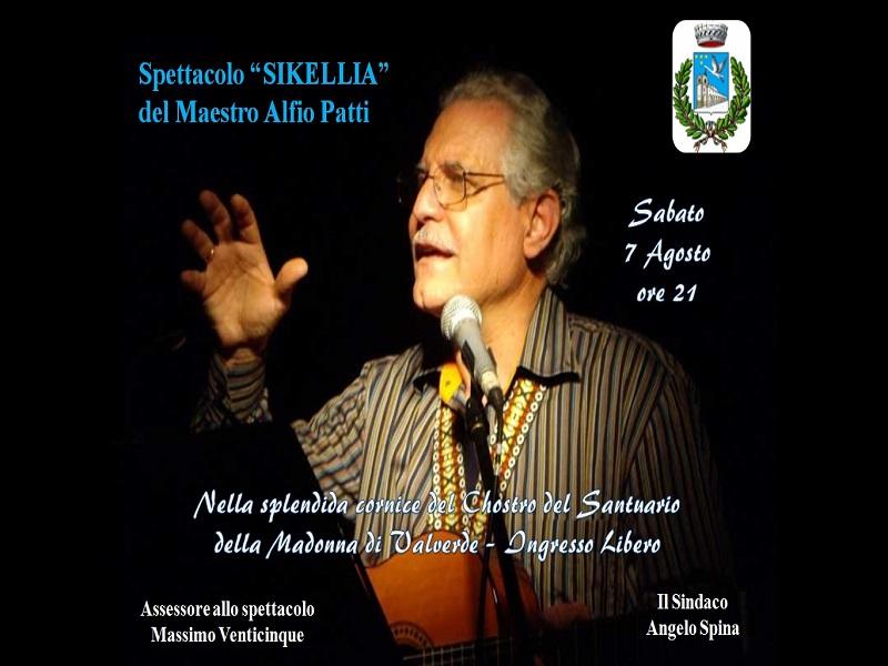 Sikellia: la locandina dello spettacolo - Foto: Cavaleri Francesca Agata