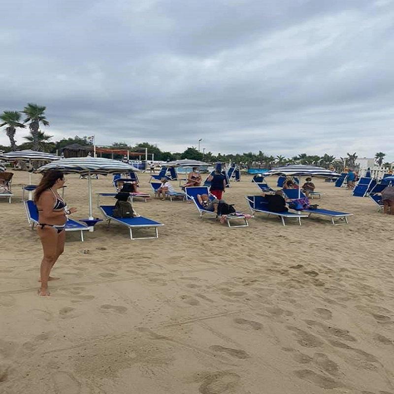 Gita al mare- un momento in spiaggia- Foto: Domenico Cageggi