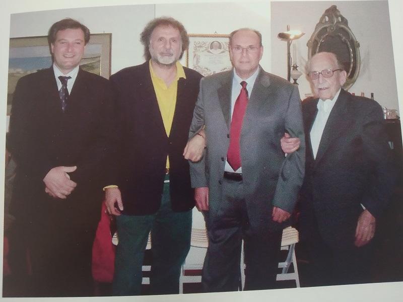 Vincenzo Gammino- i festeggiamenti dei suoi 90 Anni- Foto: tratta dal libro Valverde di Matto Donato