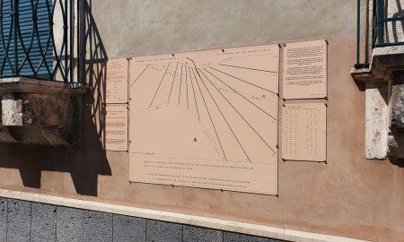 Restauro Orologio Solare Valverde