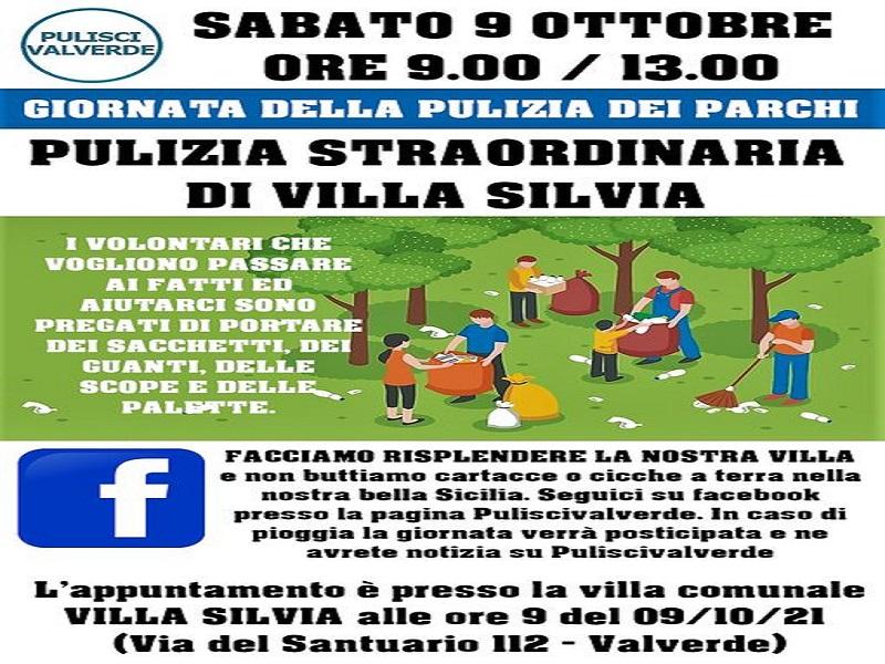 9 ottobre 2021: la locandina dell'evento - Foto: pagina facebook Pulisci Valverde